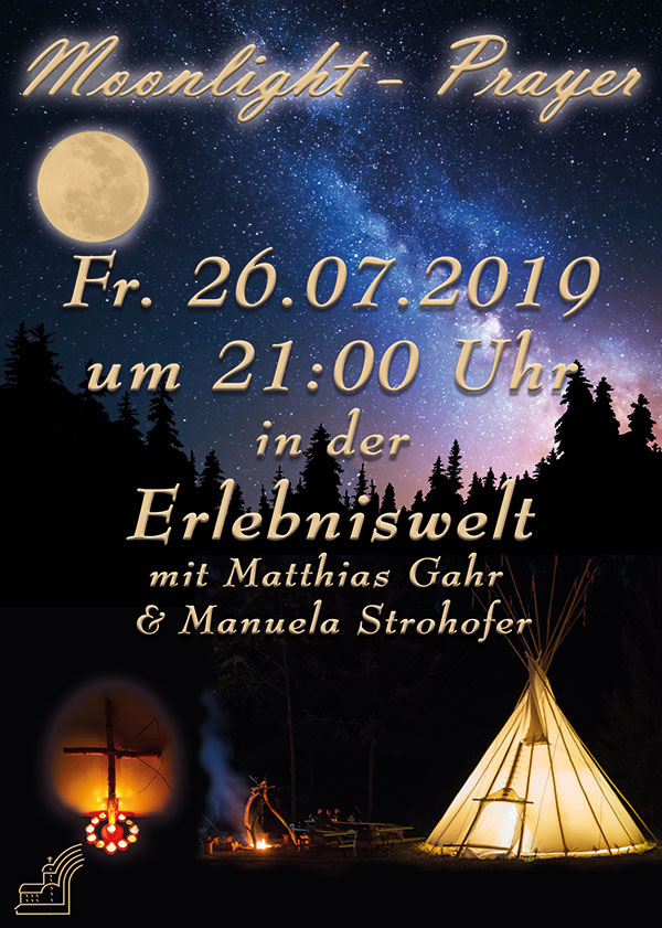 Moonlight Prayer in der Erlebniswelt